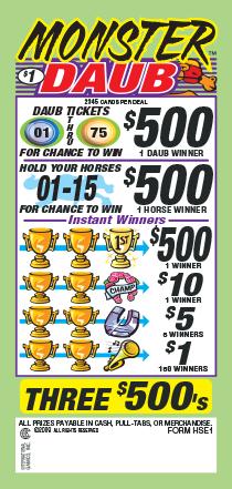 Bingo Pulltabs | The Post Bingo